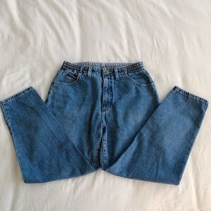 Vintage L.L Bean High Waisted Mom Jeans